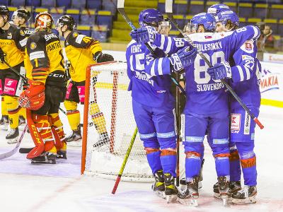 Gólová radosť hokejistov Slovenska