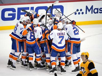 Radosť hokejistov New Yorku
