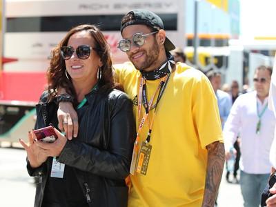 Neymar a jeho matka