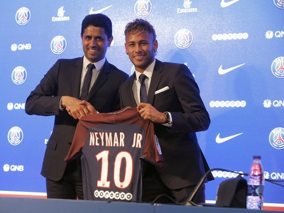 Neymara oficiálne predstavili ako