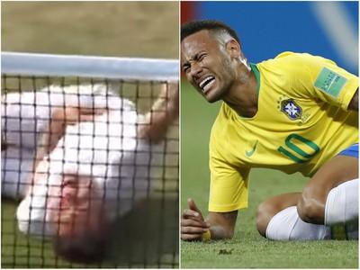 Paródia na Neymarovo simulovanie