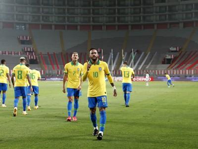 Neymar sa raduje so