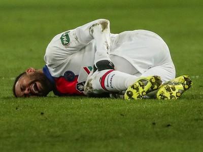 Neymar utrpel svalové zranenie