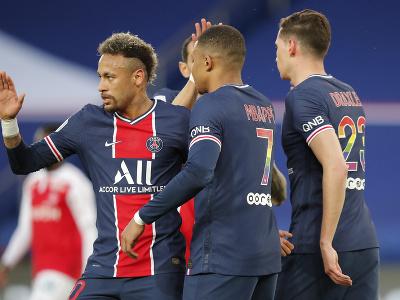 Neymar oslavuje gól