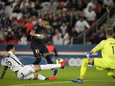 Neymar v zakončení
