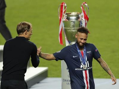 Thomas Tuchel a Neymar