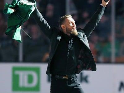 Zdraviaci sa Conor McGregor