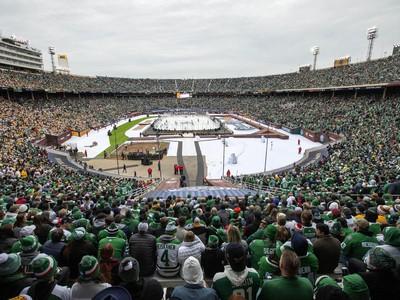 Cotton Bowl počas Winter Classic 2020