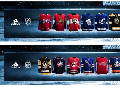 Dresy všetkých tímov NHL do novej sezóny