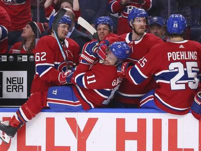 Sladká radosť zo streleného gólu v podaní chlapcov z Montrealu