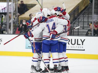 Gólová radosť hráčov Montrealu