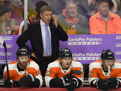 Bývalý tréner Philadelphie Flyers