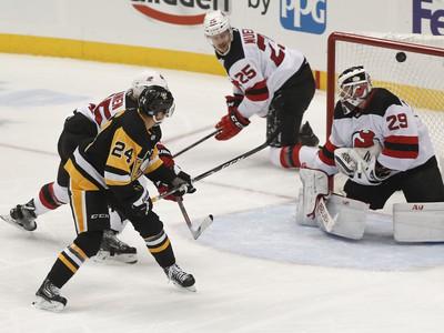 Hráči Pittsburghu porazili New Jersey