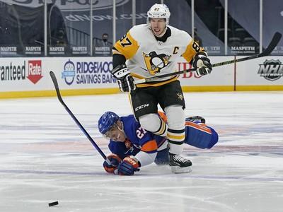 Kanadský hokejista Sidney Crosby