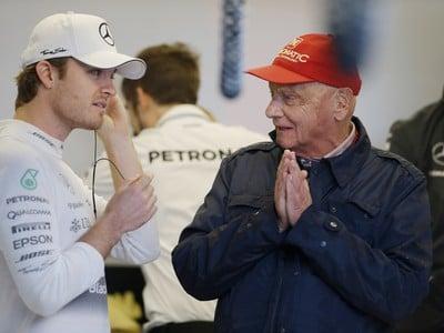 Nico Rosberg a Niki Lauda