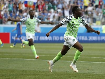 Nespútaná radosť Nigérie