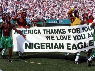 Nigérijskí orli pred 20