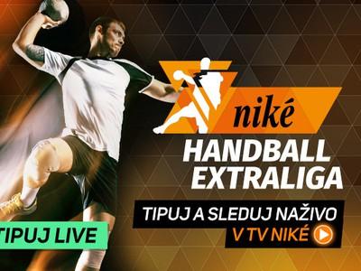 Sledujte Niké Handball Extraligu