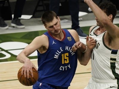 Basketbalista Denveru Nuggets Nikola
