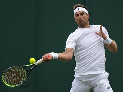 Slovenský tenista Norbert Gombos
