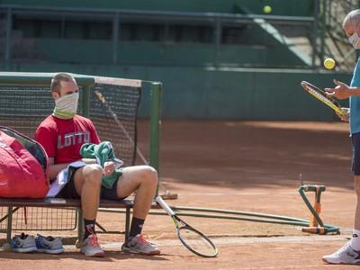 slovenský tenisový reprezentant Norbert