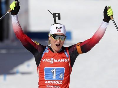 Štafeta žien korisťou Nórska