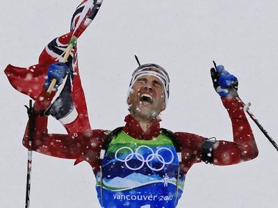Nórsky biatlonista Ole Einar