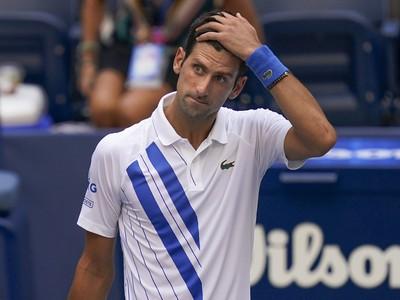 Novak Djokovič šokujúco na