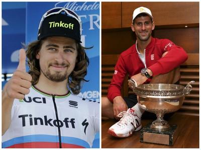 Peter Sagan a Novak