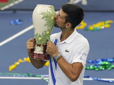 Novak Djokovič s víťaznou