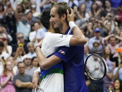 Ruský tenista Daniil Medvedev