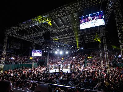Atmosféra na turnaji Oktagon