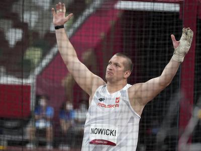 Wojciech Nowicki získal zlatú
