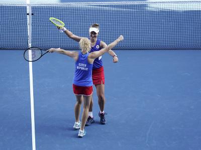 Radosť českých tenistiek