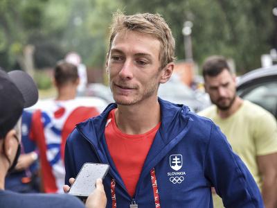 Na snímke slovenský tenista