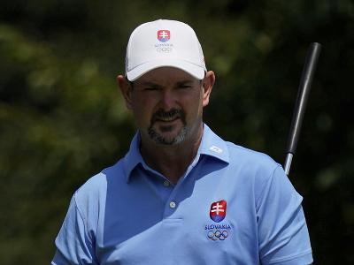 Slovenský golfista Rory Sabbatini počas štvrtého hracieho dňa