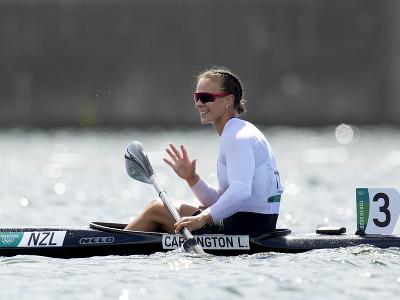 Novozélandská rýchlostná kanoistka Lisa