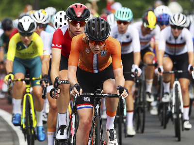 Holandská cyklistika Anna van