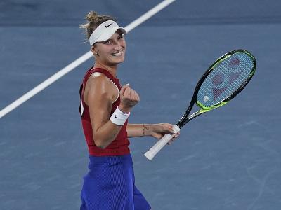 Česká tenistka Markéta Vondroušová