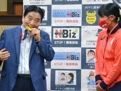 Japonská softbalistka Miu Gotová