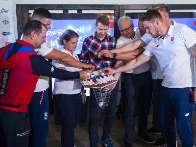 Stretnutie členov Slovenského olympijského tímu z Tokia