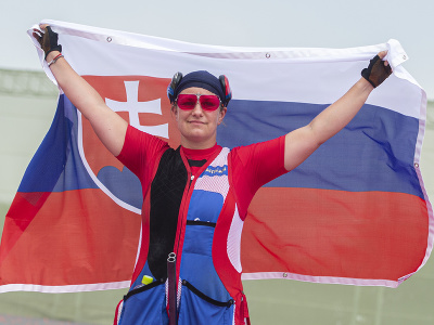 Slovenská strelkyňa Zuzana Rehák