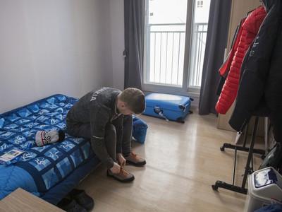 Matúš Sukeľ na ubytovni