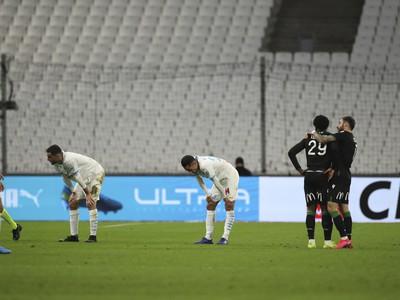 Futbalisti Olympique Marseille prehrali