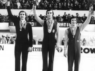 Ondrej Nepela - víťaz MS 1973