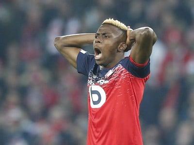 Nigérijský futbalista Victor Osimhen