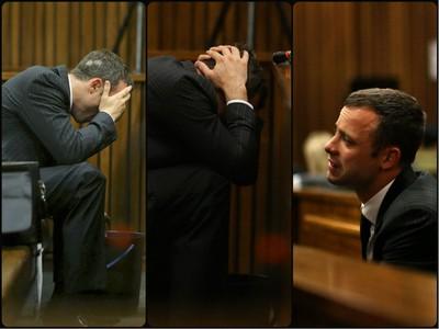 Oscar Pistorius na súde