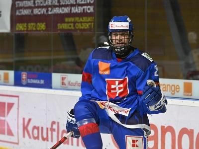 Hráč Slovenska U18 Peter
