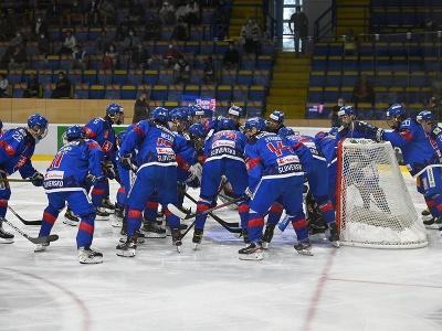 Tím Slovenska U18 počas