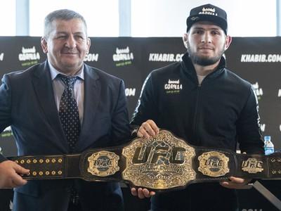 Chabib Nurmagomedov a jeho